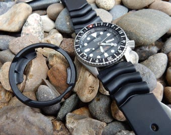 Custom James Bond Modified Rare Seiko SKX007J watch//Dive watch//Rolex submariner//Sean Connery//bond strap//gifts for guys//Father's day#2