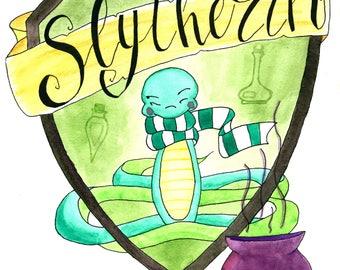 Harry Potter Slytherin Crest/Hogwarts House