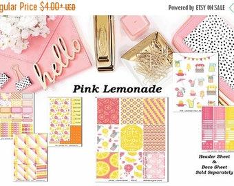 45% Off Pink Lemonade, 6 sheet weekly kit//EC//Hp classic, large mini