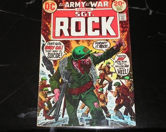 Our Army At War Featuring Sgt Rock #262 Bronze Age 1973 The Return Bob Kanigher Art Russ Heath Good Condition (3.5)