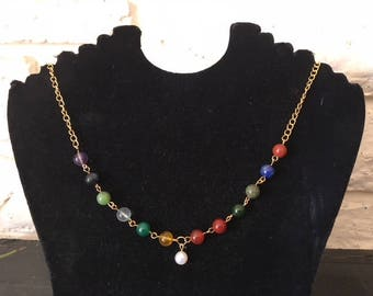 New Jerusalem necklace with a pearl