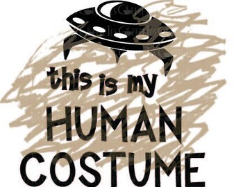 Human Costume - Scribble is not included : DOWNLOADABLE  FILE ONLY png. pdf. svg. dxf. Use files for screen printing, vinyl and more