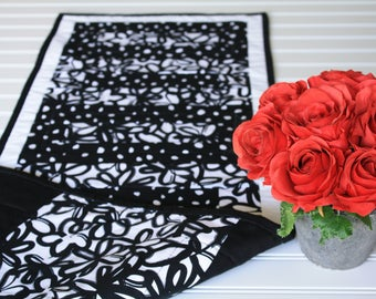 Quilted Table Runner - 100% Cotton - Table Linens