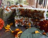 Sage + Lemongrass + Marigold Lard Soap