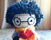 Harry Potter. Harry Potter Pattern. PDF file amigurumi crochet pattern. DIY handmade toy.