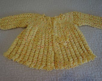 Hand knitted toddler Cardigan