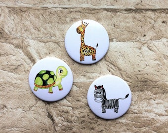 Animal magnets set