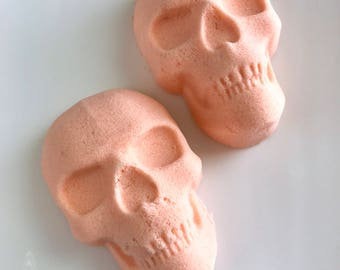 Skull Bath Bombs - Halloween Bath Bomb - Pumpkin Bath Bomb - Fall Bath Bomb - Bath Bomb Gift Set - Bath Bomb Party Favor