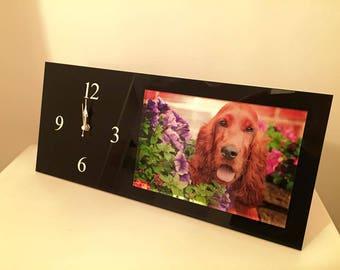 Acrylic photo clocks