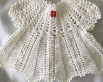 Baby Girl Crocheted Dress