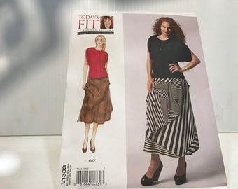 Today's Fit Vogue Pattern by Sandra Betzina -new uncut -multi-sized-ready for you -free shipping
