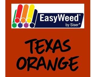 Siser EasyWeed Heat Transfer Vinyl - HTV - Texas Orange