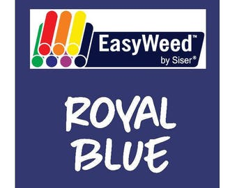 Siser EasyWeed Heat Transfer Vinyl - HTV - Royal Blue