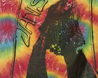 On Sale Janis Joplin colorful wall hanging.