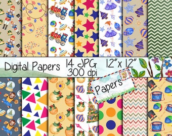 nutcracker digital papers christmas papers holiday paperschristmas backgroundchristmas scrapbook