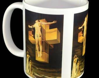 Mug - Crucifixion by Salvador Dali Mug