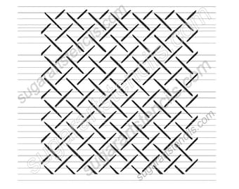 lattice cookie stencil for cookie decorating NB22304