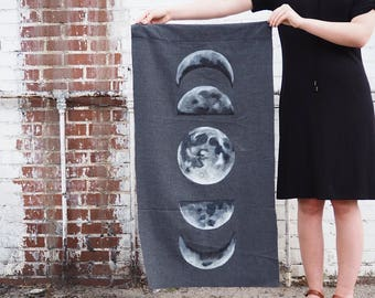 Moon Phase Tapestry // Wall Art