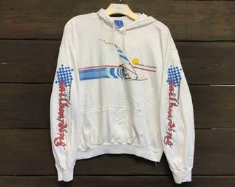 Vintage 80s Op Hoodie