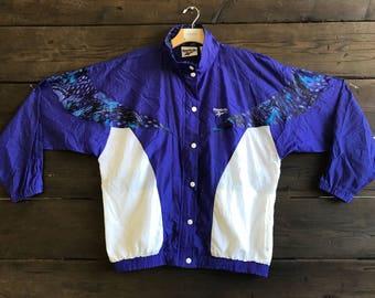 Vintage 80s/90s Reebok Windbreaker Jacket