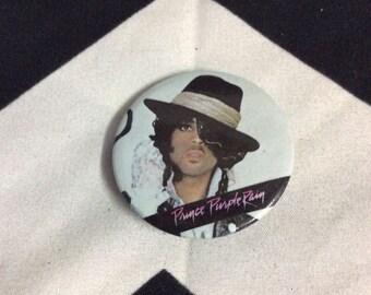 Button Prince  Purple Rain