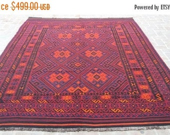 30% DISCOUNT 8u00274 X 10u002710 Feet, Gorgeous Vintage Afghan Tribal