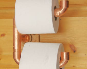 Steampunk Toilet Paper Holder