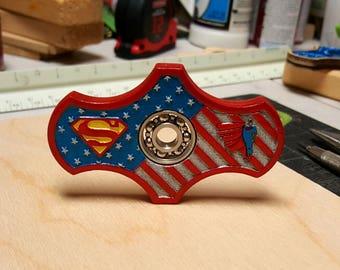 Superman '77 Fidget Spinner, EDC, Desk Toy