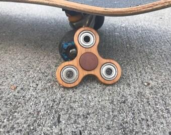 Wood Fidget Spinner-Beech