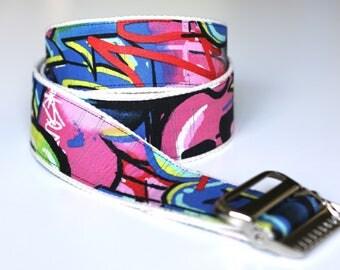 "High Quality Custom  Gait Belt and Badge Reel ""The Jace"""
