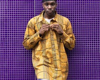 African Longline Shirt- Ankara Shirt - Festival Clothing - African Clothing - African Shirt-Summer Shirt - Festival Shirt - Wax Shirt Unisex