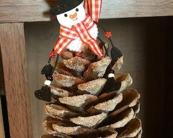 Large pine cone tree decoration 4