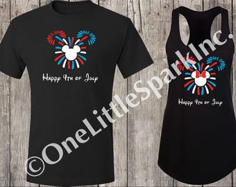 disney fourth of july disney fireworks mickey 4th of july shirt  disney matching family shirts fourth of july shirt fire works shirt
