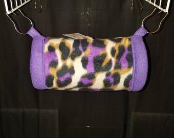 Hanging Fleece Tunnel for small animals, Sugar Glider's, Degus, Rat's,