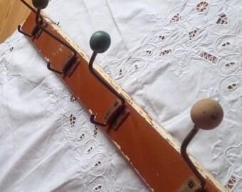 French vintage coat rack