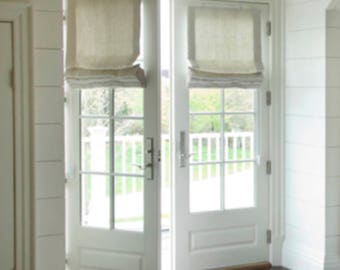 French Door Curtain Etsy