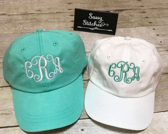 Mother and daughter matching hats, baseball hats, hats for mother and daughter, matching hats, baseball hats, monogrammed baseball hats