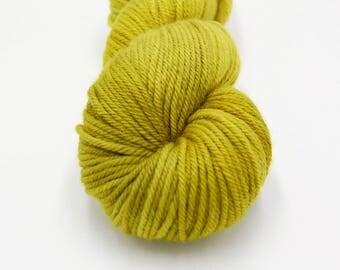 Merino Worsted Hand Dyed Yarn - Moss