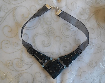 Fabric Choker necklace