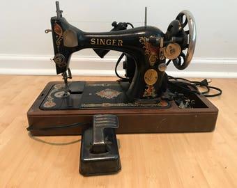 1919 Singer Electric Sewing Machine
