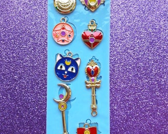 Silicone rubber stencil Charms Sailor Moon