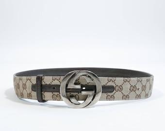 GUCCI - Logated belt