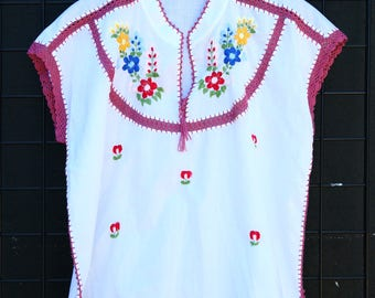 0168 Embroidered Thailand Blouse