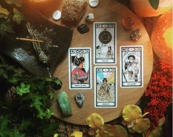The Sun Will Come Out Summer Solstice Tarot Spread