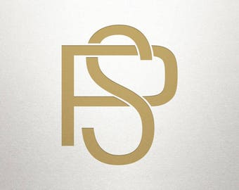 Overlapping Letters Design - PS SP - Overlapping Letters - Digital