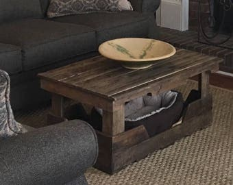 Pallet Table Dog Bed Shipping Included