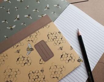 Honey Comb Notebook