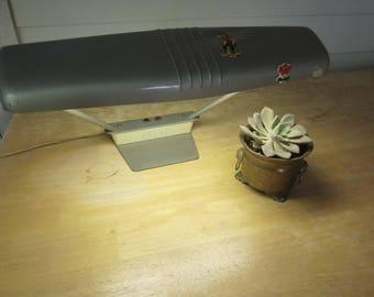Vintage Dozer 2 Bulb Desk Light