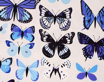 Butterfly Patterned Fabric for Andover Fabrics by the Half Yard