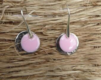 """Earrings """"Rose"""" Medal"""